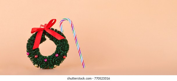 Christmas Cards with space for your text. Christmas ornaments.