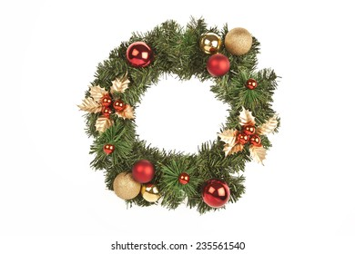 Christmas circle tree decorations