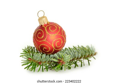 Christmas concept on a white background