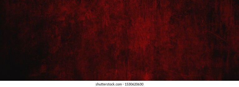 Christmas concrete texture in dark warm red as background banner in XXXL