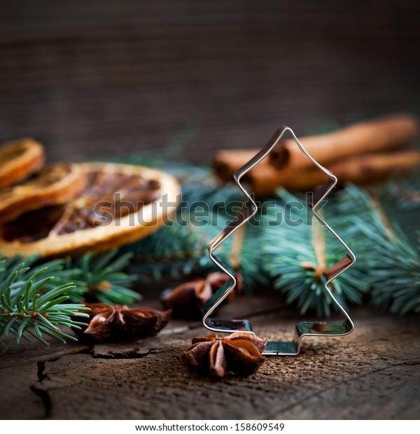christmas cookie cutter fir