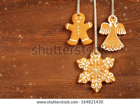 Christmas Cookies Background Stock Photo Edit Now 164821430