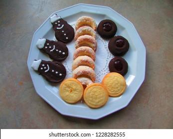 Thumbprint Cookies Images Stock Photos Vectors Shutterstock