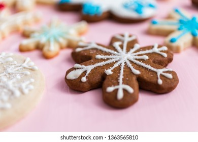 Pink Christmas Cookie Images Stock Photos Vectors Shutterstock