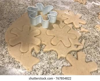 Christmas cookies dough