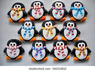 Penguin Cookie Images Stock Photos Vectors Shutterstock