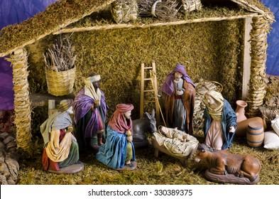 1000 Christmas Crib Stock Images Photos Vectors