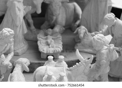 Christmas crib, nativity scene