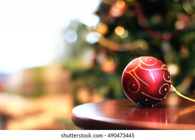 christmas decor object ball