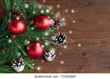 Christmas decor, preparation for the New Year, greeting card