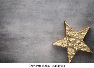 Christmas  decor stars, Christmas greeting card.