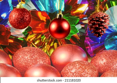 Christmas Decoration Background.