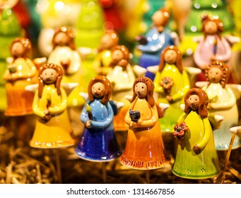 Christmas decoration - ceramic figures