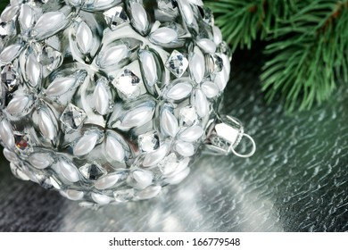 Christmas decoration with fir-tree