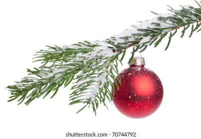 Christmas Decoration - isolated on a white background