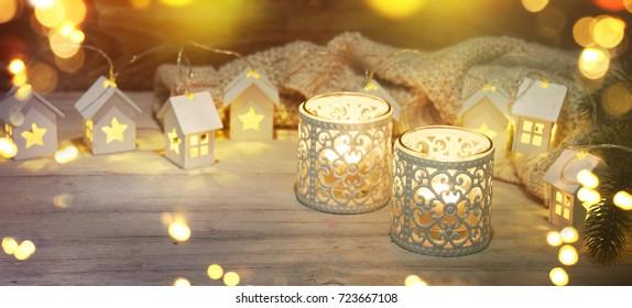 Christmas decoration and lighting