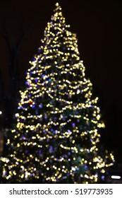 Christmas decoration lights.