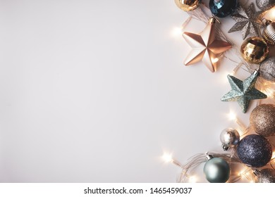 Christmas decoration for new year , Christmas , birthday , anniversary , celebration concept background