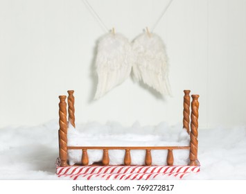 Christmas decoration for newborn and kids photography