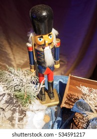 Christmas Decoration with a Nutcracker