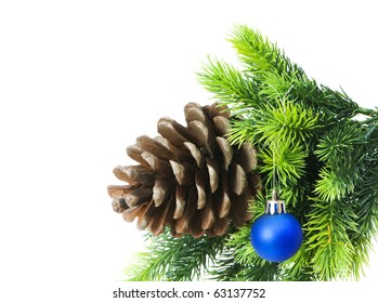 Christmas decoration on the tree