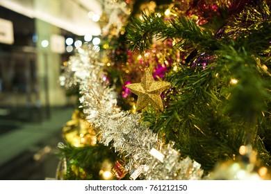 Christmas decoration on Christmas tree./ Christmas decoration.