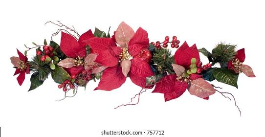 Christmas Decoration - Poinsettia