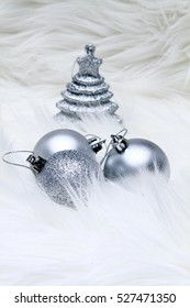 christmas decoration silver