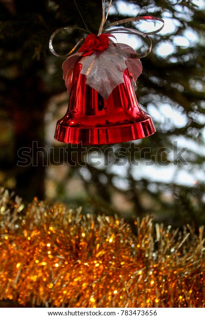 Christmas decoration in a Christmas tree