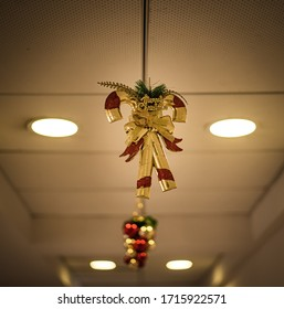 Christmas decorations - hanging from the ceiling