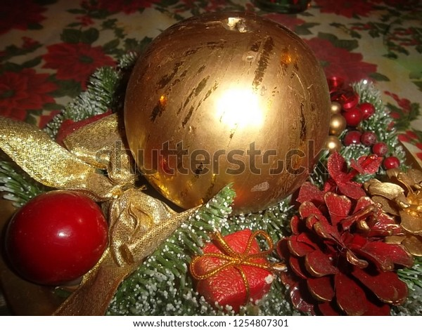 Christmas In Italy Decorations.Christmas Decorations Italy Stock Photo Edit Now 1254807301