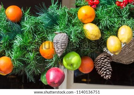 christmas decorations in july in regional area in australia