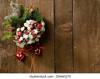Christmas decorations, texture