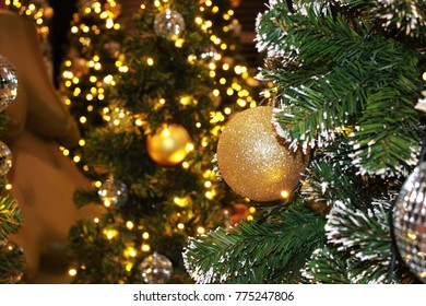 Christmas Decorations In Christmas Tree