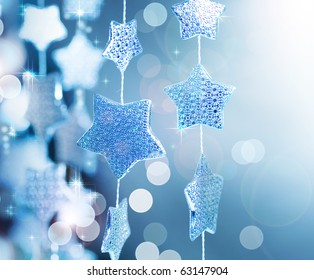 Christmas decoration.Winter