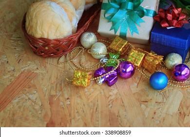 Christmas decorative gift box
