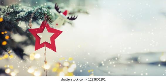 Christmas decorative ornaments