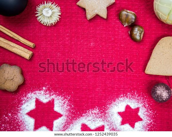 Christmas Cookies Wallpaper.Christmas Decorative Wallpaper Christmas Cookies Christmas
