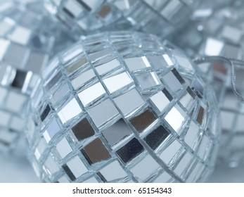 Christmas disco ball