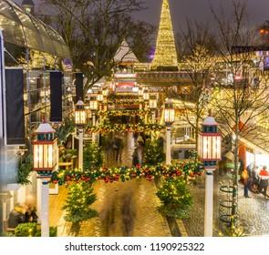 Christmas Fare, Tivoli, Copenhagen, Denmark