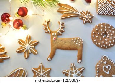 Reindeer Cookies Images Stock Photos Vectors Shutterstock
