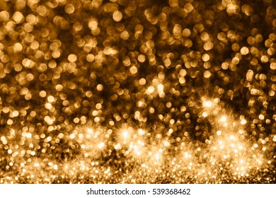 Christmas Glittering with stars background.Holiday abstract texture.