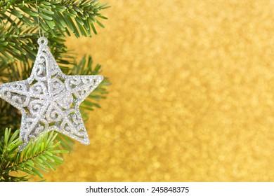 Christmas greeting card. Christmas background.