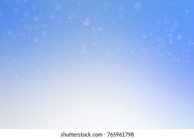 Christmas and Happy new year 2017 on blurred bokeh colorful. lovely bokeh for all celebration as well.  Light blue bokeh. Snow bokeh.