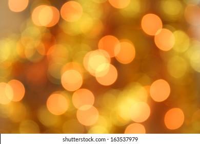 Christmas holiday lights bokeh background