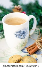 Christmas Hot Drink with Cinnamon
