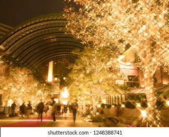 Christmas illumination of Yebisu Garden Place
