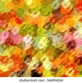 Christmas kiss lipstick abstract background
