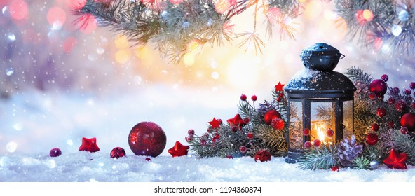 Snow On Christmas.Winter Scene Images Stock Photos Vectors Shutterstock