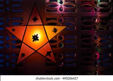 Christmas lantern star